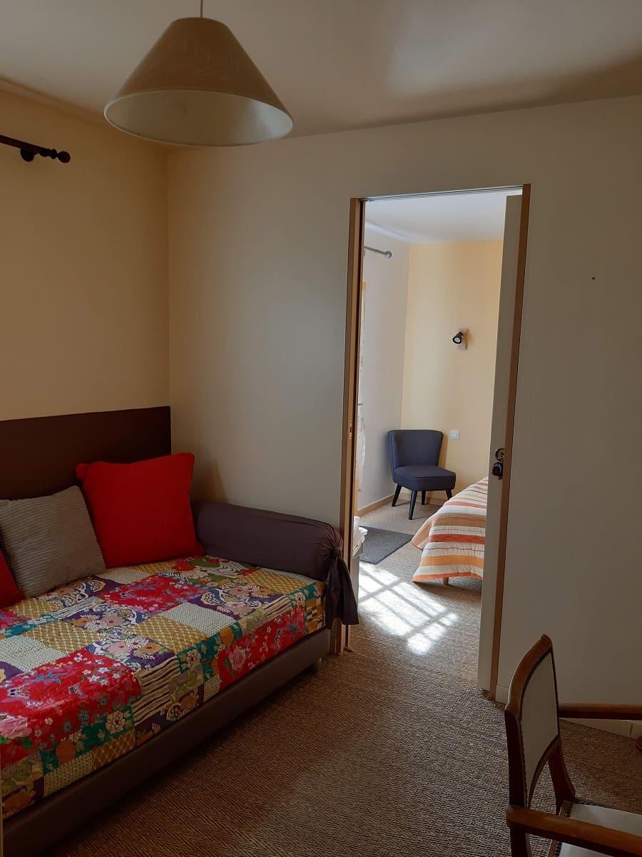 Petit salon de la chambre d'hôtes Les Salines - Maison d'hôtes les Fillattes sur l'île de Ré
