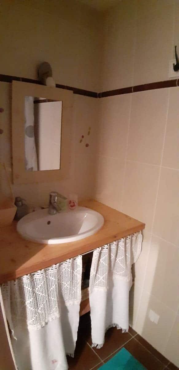Salle d'eau de la chambre d'hôtes les Salines- Maison d'hôtes Les Fillattes sur l'île de Ré