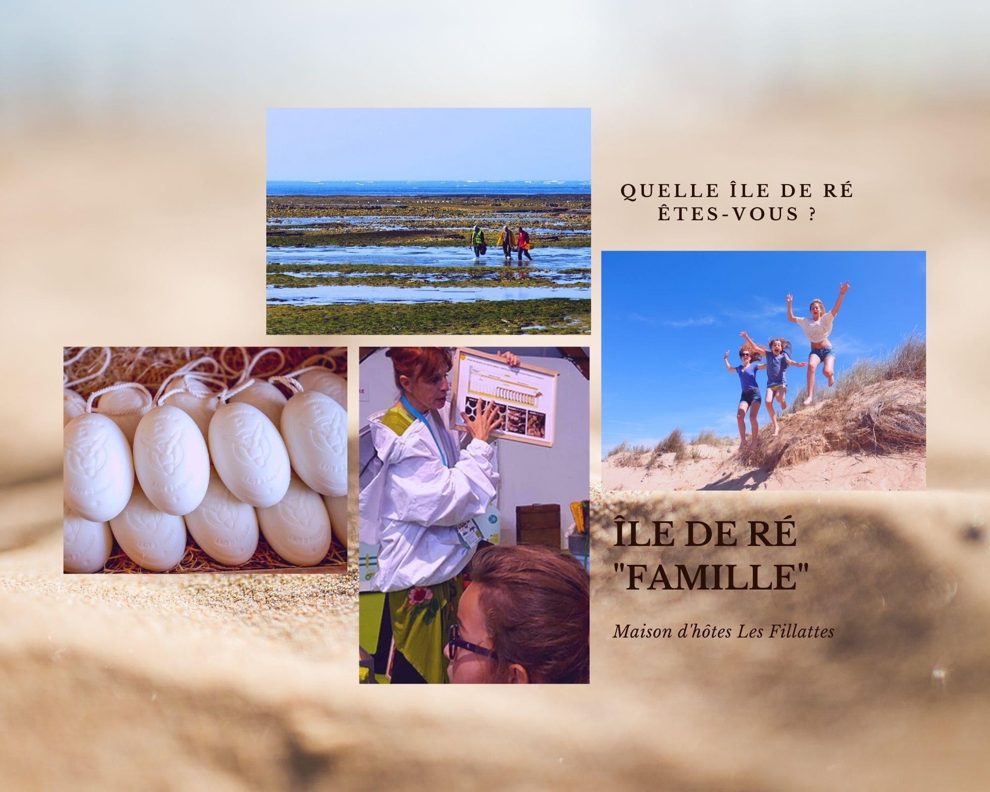 Île de ré en famille pour des vacances idéales en plein air- Gite les Fillattes